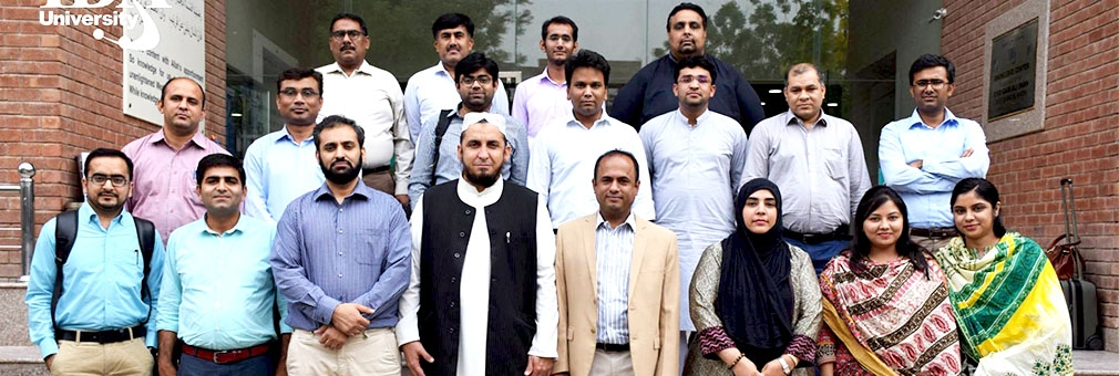 Dr. Shafiullah Jan, Research Chair CEIF IMSciences, delivered a two-day training on Islamic Finance and Curriculum Development in Islamic Banking and Finance at IBA Sukkur University