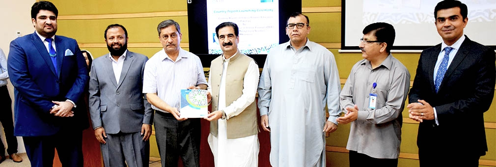 """CEIF IMSciences launched a comprehensive country report on """"ISLAMIC FINANCE EDUCATION IN PAKISTAN"""